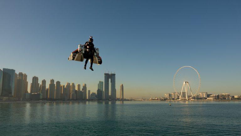 Dubai Jetman Vincent Reffet dies in training accident in the UAE