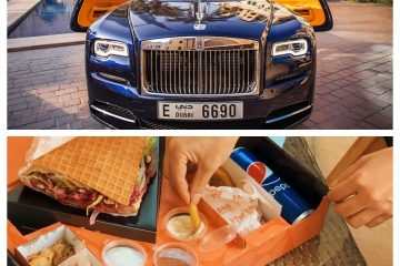 You can now get your Doner Kebab delivered by Rolls Royce. Because Dubai.