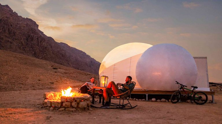You can now go glamping in stunning tents with AC in the Abu Dhabi wilderness