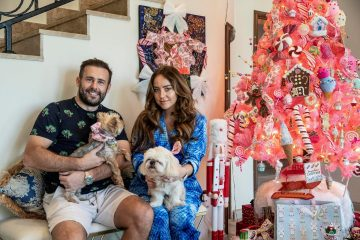 This Dubai house has nine Christmas trees and a real gingerbread kitchen