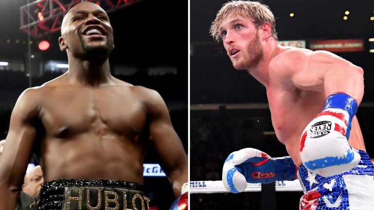 Floyd Mayweather to fight YouTuber Logan Paul in February