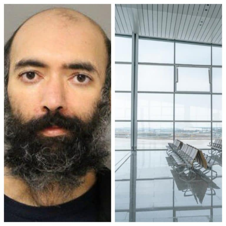 Man found living in airport for three months due to fears he'd catch Covid