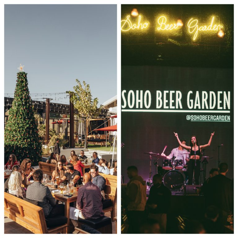 Soho Beer Garden is the new venue you have to check out