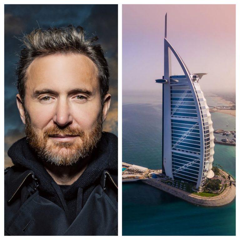 David Guetta to DJ from the Burj Al Arab helipad