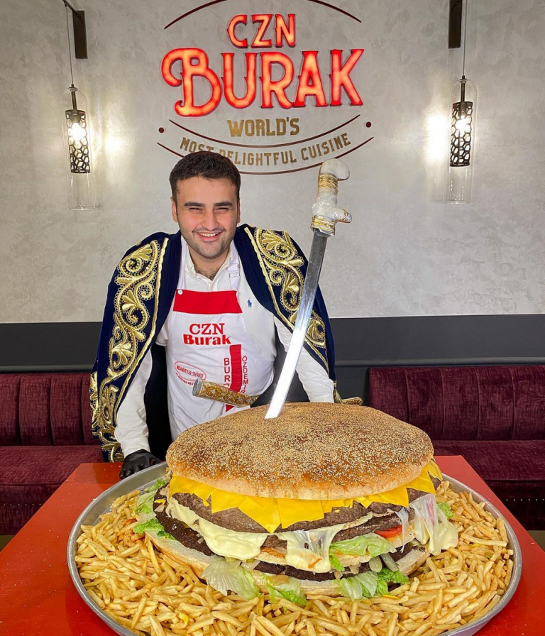 Celebrity chef CZN Burak is opening a burger joint in Dubai