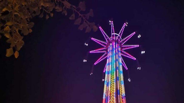 World's tallest swing ride now open in Dubai