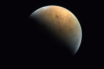 Hope probe releases first photo of Mars - and it's stunning