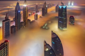 These are the must-see stunning photos of Dubai above the fog