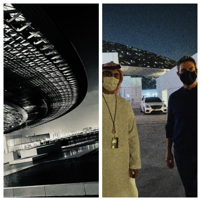 Tom Cruise finishes filming Mission Impossible in Abu Dhabi after trip to the Louvre