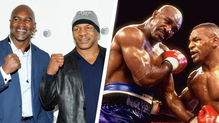 Tyson and Holyfield in talks over AED1 billion trilogy fight in Dubai