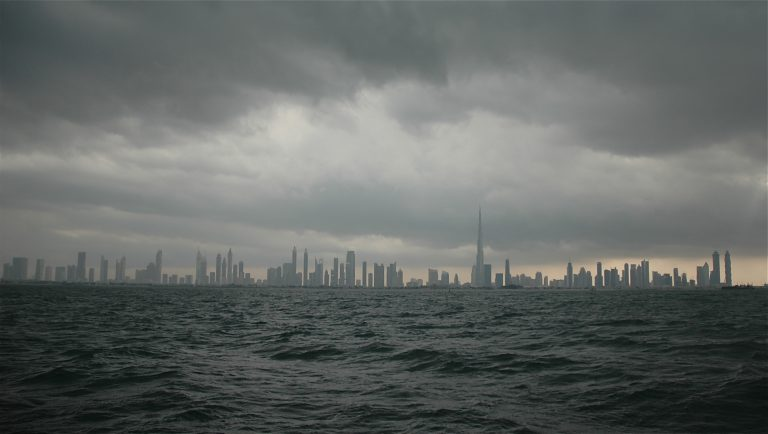 It's probably going to rain this weekend in Dubai