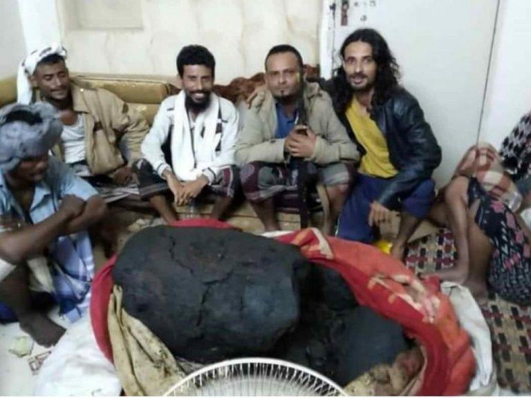 Yemeni fishermen strike it rich with whale vomit find worth millions