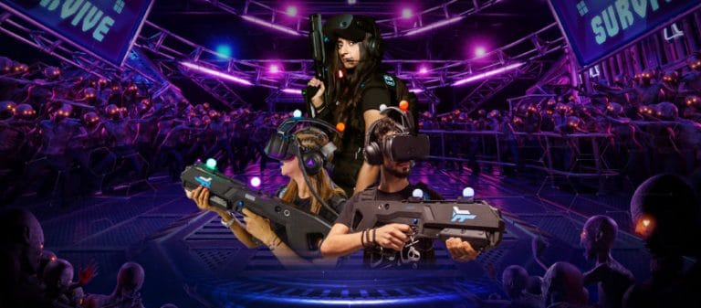 Get your Virtual Reality fix with Arena Games, the state of the art gaming centre in Dubai