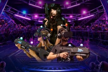 Win tickets to Arena Games, the ultimate Virtual Reality Gaming centre