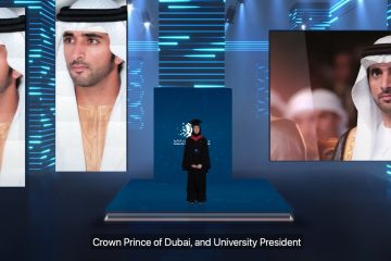 Sheikh Hamdan surprises Dubai students at their graduation