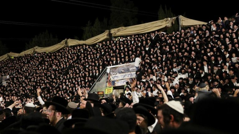 Dozens killed in Israel at crowded religious festival