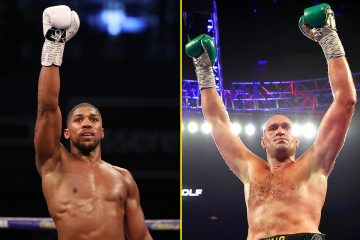 Joshua vs Fury fight 'confirmed' for Saudi Arabia this summer