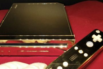 'The Queen's' 24k Gold Nintendo now on sale