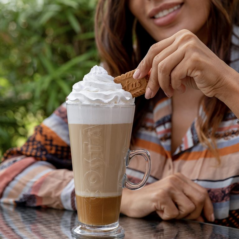 We have a latte love for the new Costa Coffee Lotus Biscoff Latte