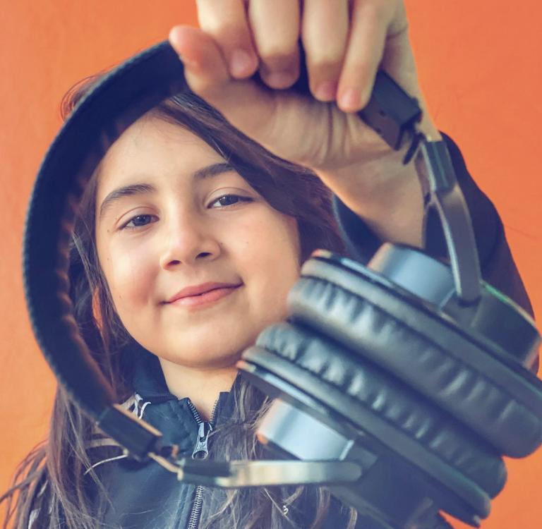Nine-year-old Dubai DJ Michelle enters world-famous DMC Championships
