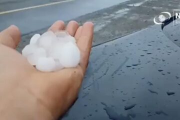Huge hailstorms batter Sharjah as cloud seeding takes place