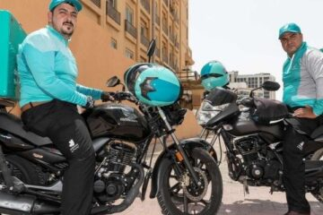 Two Deliveroo drivers in Dubai given AED50,000 bonus