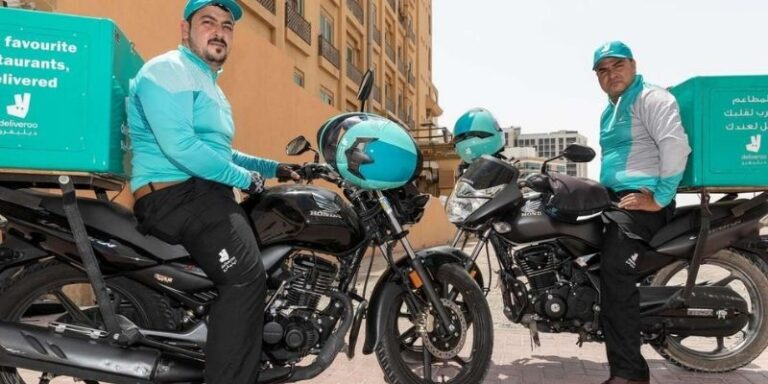 Two Deliveroo drivers in Dubai given AED50,000 bonus