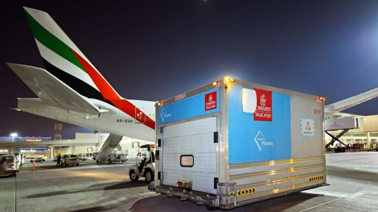 Emirates flies aid to India for free as the country battles the second wave of Covid