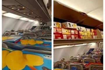 This flight from Pakistan to Dubai wasn't filled with passengers but mangoes
