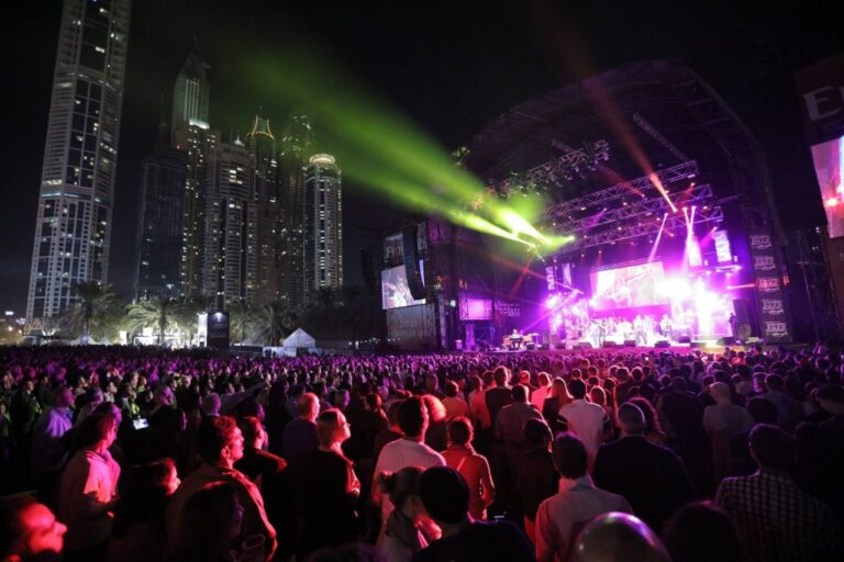 UAE residents need to be vaccinated AND have a negative PCR test to attend events from June 6