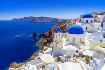 You can now fly direct from the UAE to Santorini for just AED179