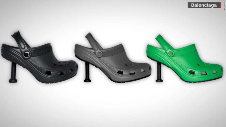 Is this Balenciaga Stiletto cRoc the ultimate dubai shoe?
