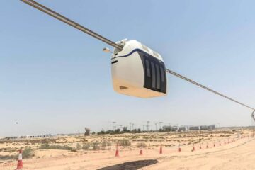 Sharjah's sky pod takes Passengers for the first time