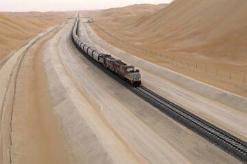 Etihad Rail completes next stage of 1,200km rail network linking UAE to Saudi Arabia
