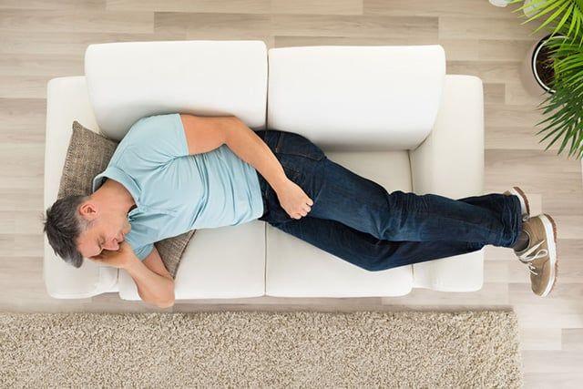 Dubai tourist falls asleep on hotel sofa, strips naked and resists arrest