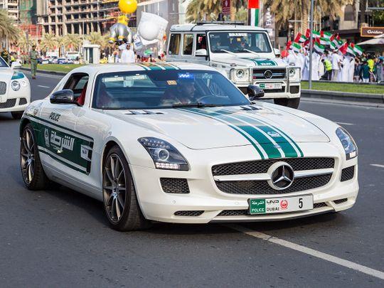 Dubai Police fly supercar to italy for 1,000-mile race