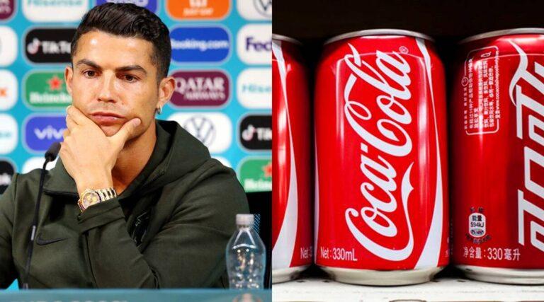 Ronaldo wipes off billions from Coca-Cola's market value