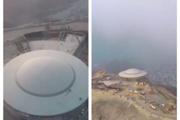 Stunning new 'flying saucer' attraction to open in Khorfakkan at 580 metres above sea level