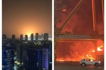 No one hurt in Jebel Ali explosion on container ship