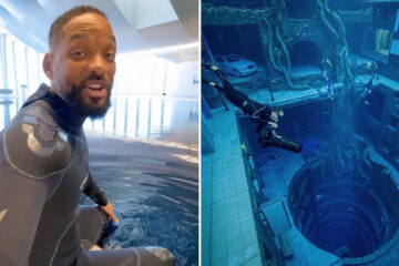Will Smith one of the first people to test out Deep Dive Dubai
