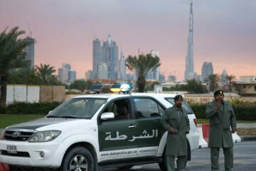 driver pretending to be Dubai Police officer arrested