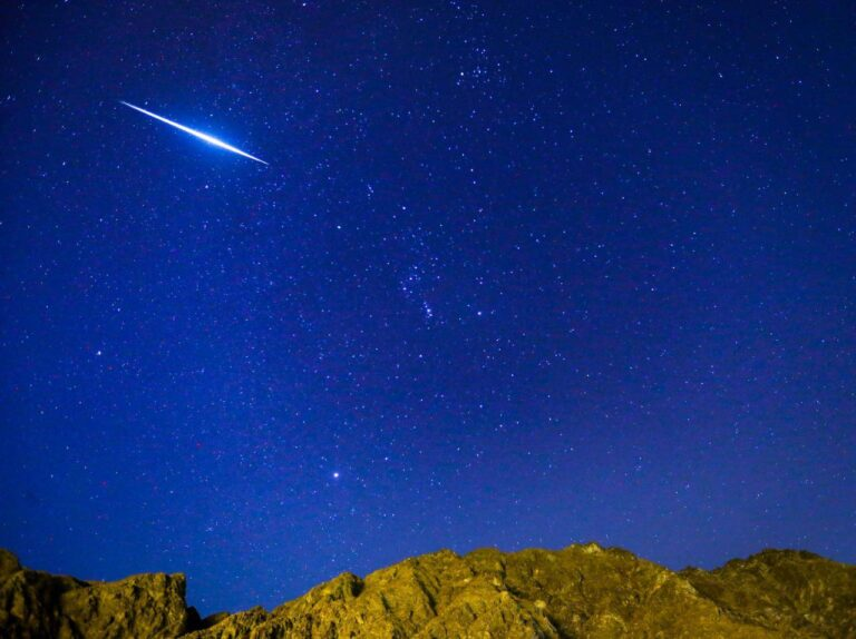 When and where to watch the meteor shower in the UAE