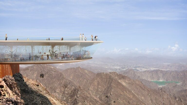 STunning new Hatta mountain hotels include waterfalls, sky bridge and 5.4km cable car