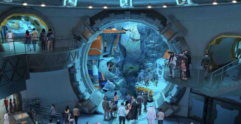 SeaWorld Abu Dhabi coming next year, making it the largest aquarium in the world