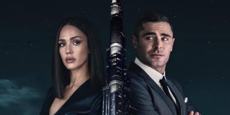 Zac Efron and Jessica Alba star in new Dubai video