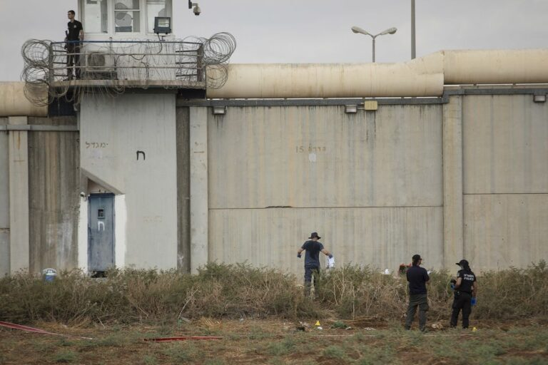 Prison Break Israel style as Six Palestinians escape from high-security Israeli prison