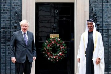 Sheikh Mohammed bin Zayed meets Boris Johnson to discuss 'Partnership for the Future'