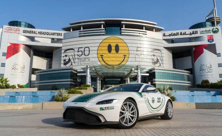 Dubai Police add another Supercar to their fleet