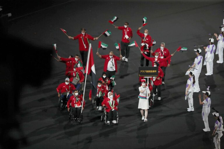 The UAE's Paralympic heroes return home