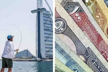 Dubai fishermen find nearly AED14,000 in the ocean